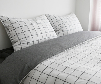 GRIDA CHECK BEDDING